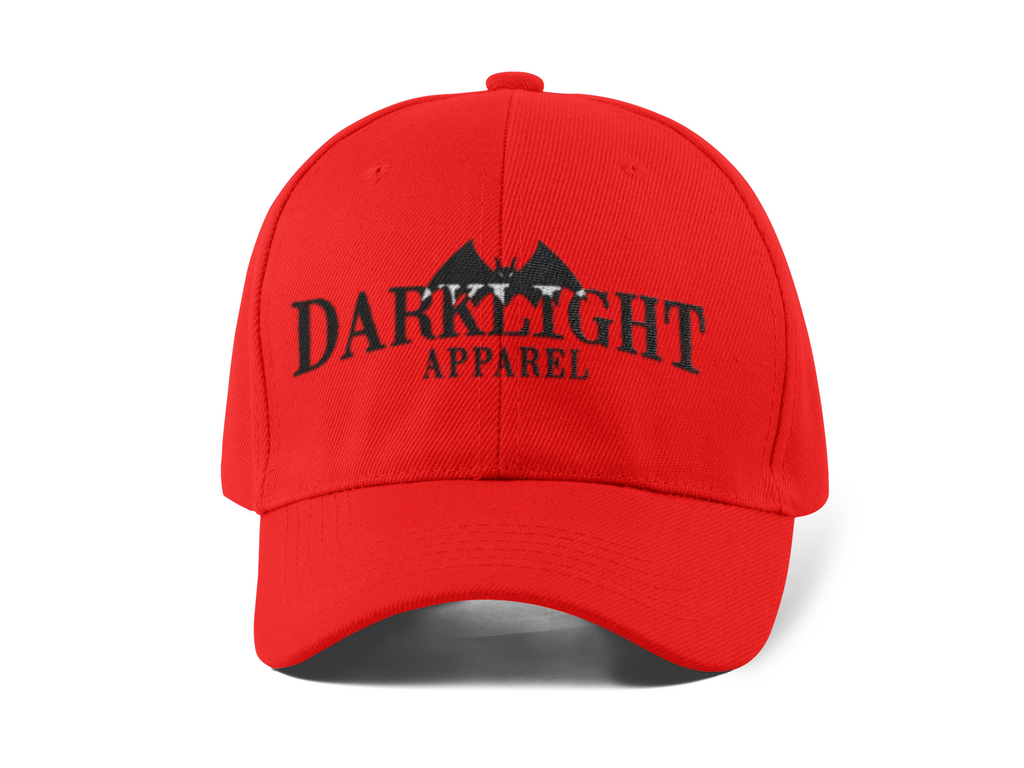 Darklight Logo Baseball Cap Red