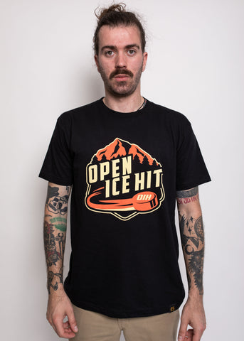 Open Ice Hit Tee Black
