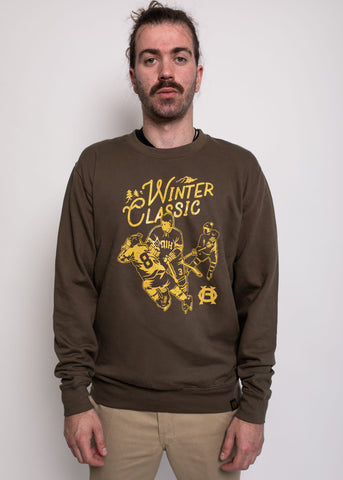 Winter Classic Sweater Olive