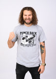 Punch Back Tee Grey