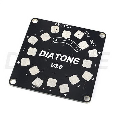 Diatone Power Distribution Board with 5V 12V BEC and LED