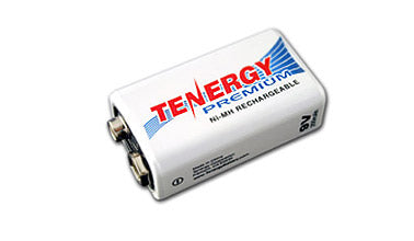 Tenergy Premium 9V 200mAh Ni-MH Rechargeable Battery – High Capacity