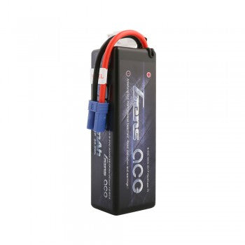 GENS ACE 5000mAh 11.1V 50C 3S1P HardCase Lipo Battery 15# with EC5 Plug