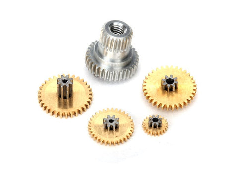 2064X: Traxxas Gear Set, Metal (for 2065X Waterproof Sub-Micro Servo)