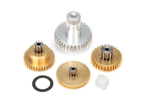 2087X: Traxxas Gear Set, Metal (for 2085 & 2085X servos)