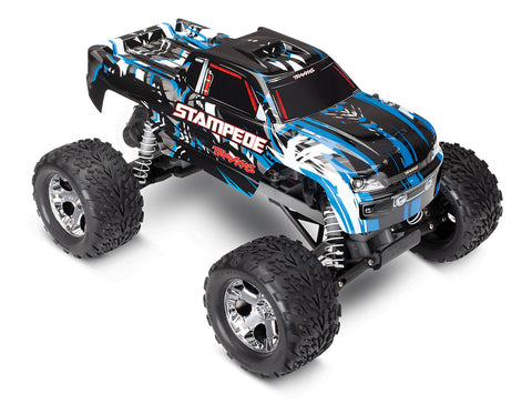 36054-1: Traxxas 1/10 Stampede Monster Truck RTR with ID, 2.4GHz, (BlueX)*