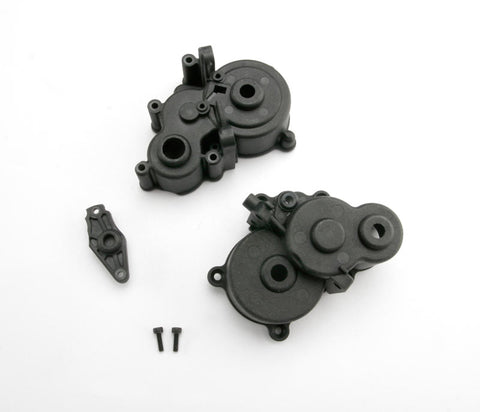 3991X: Traxxas Gearbox Halves (front & rear)/ Shift Detent Ball/ Spring/ 4mm**