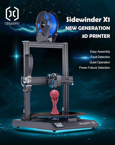 Artillery Sidewinder-X1 - 3D Printer NEW IN BOX V4