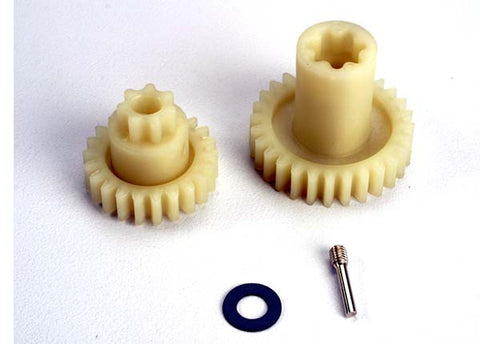 4995: Traxxas Primary Gears: Forward(28-T)/ Reverse(22-T)