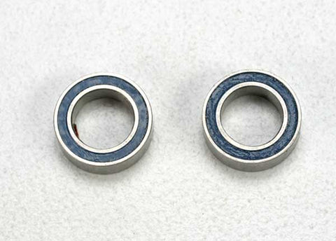 5114: Traxxas Ball Bearings, Blue Rubber Sealed (5x8x2.5mm) (2)