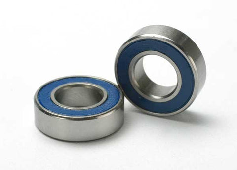5118: Traxxas Ball Bearings, Blue Rubber Sealed (8x16x5mm) (2)