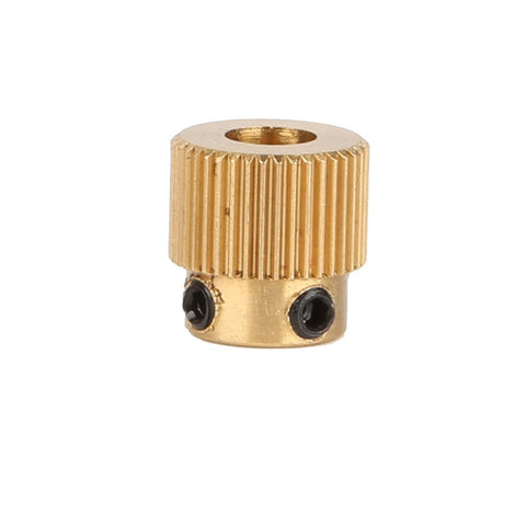 Creality Brass Extruder Wheel 40 Teeth Drive Gear