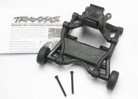 *5472: Traxxas Wheelie Bar, Assembled (fits all 1/10th scale Revo trucks)