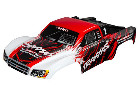 5824R: Traxxas Body, Slash 4X4, Red (painted, decals applied)