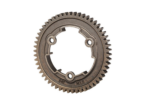 6449R: Traxxas Spur Gear, 54-tooth, steel (1.0 metric pitch)