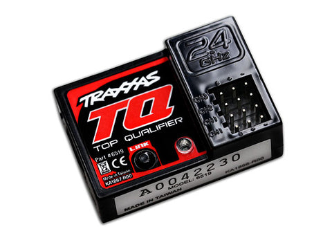 *6519: Traxxas Receiver, Micro, TQ 2.4GHz (3-Channel)