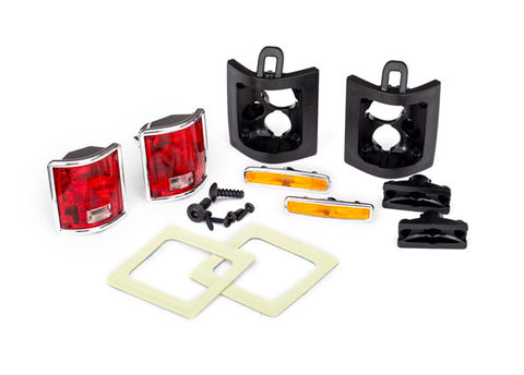 8135: Traxxas Tail Lights, Left & Right (assembled)