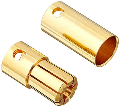 6.5mm Gold Bullet Connector (Male)