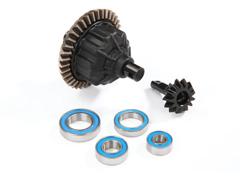 8686: Traxxas Differential, Front or Rear, Complete