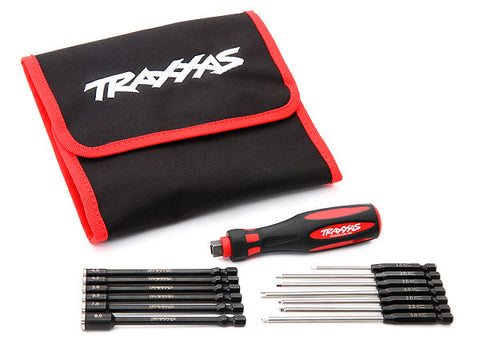 8710: Traxxas Speed Bit Master Set, Hex and Nut Driver, 13-piece