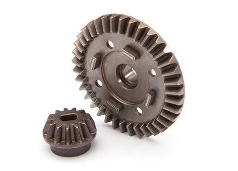 8977: Traxxas Ring Gear, Differential/ Pinion Gear, Differential (rear)