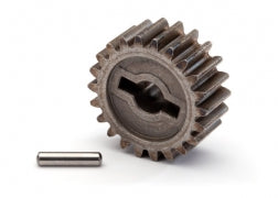 8985: Traxxas Input Gear, Transmission, 22-Tooth/ 2.5x12mm Pin