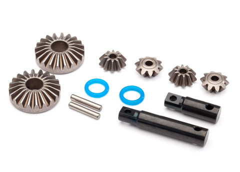 8989: Traxxas Output Gear, Center Differential, Hardened Steel (2)