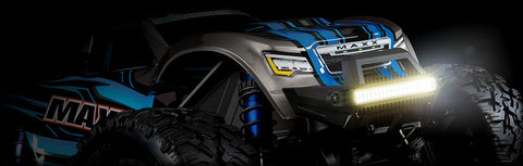 8990: Traxxas High-Intensity LED Light Kit for Maxx Monster Trucks