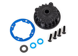 9081: Traxxas Housing, Center Differential/ X-Ring Gaskets (2)