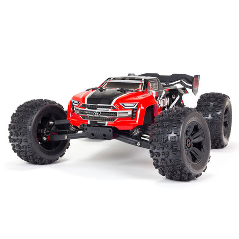 ARRMA Kraton 6S 4WD BLX 1/8 Speed Monster Truck RTR, Red