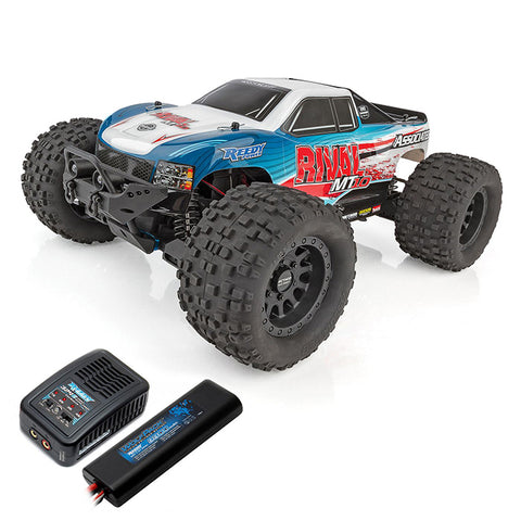 Associated 1/10 Rival MT10 4WD Monster Truck Brushless RTR Combo