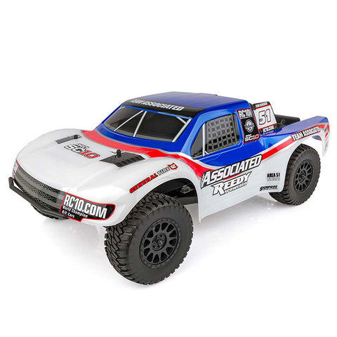 Associated 1/10 ProSC10 AE Team 2WD SCT Brushless RTR LiPo Combo