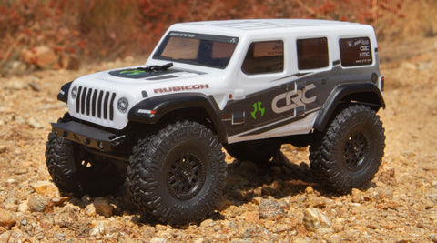 Axial 1/24 SCX24 2019 Jeep Wrangler JLU CRC Rock Crawler 4WD RTR, White (Now Available for Pre-Order)