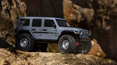 AXIAL 1/10 SCX10 III Jeep JLU Wrangler with Portals RTR, Gray*