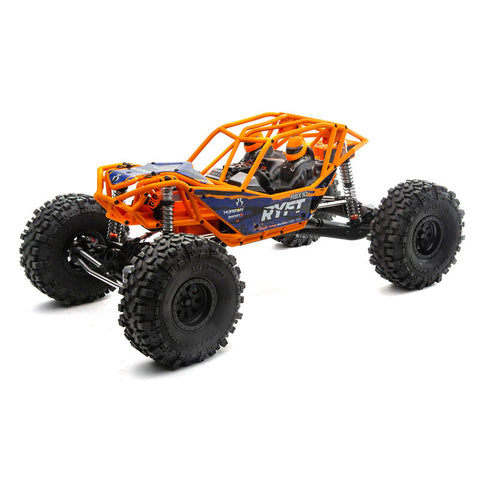 AXIAL 1/10 RBX10 Ryft 4WD Brushless Rock Bouncer RTR, (Orange)