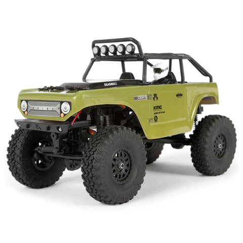 Axial 1/24 SCX24 Deadbolt 4WD Rock Crawler Brushed RTR, Green (Now Available for Pre-Order)