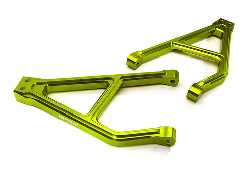 Integy Billet Machined Rear Upper Suspension Arms for Traxxas 1/10 E-Revo 2.0 (C28682GREEN)