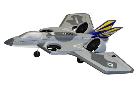 Flex Innovations FV-31 CYPHER VTOL EDF SUPER PNP (Gray)