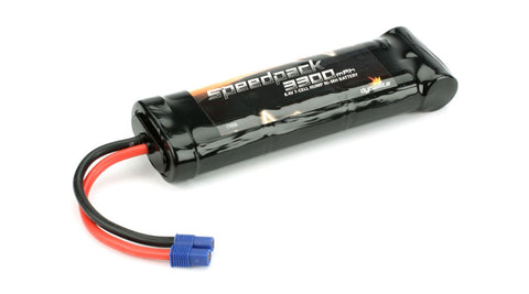 Speedpack 8.4V 3300mAh NiMH 7-Cell Flat with EC3 Conn