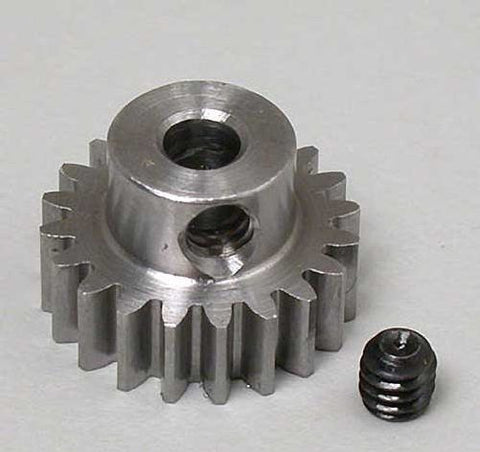 RRP 0.6 Module Steel Alloy Metric Pinion, 20T