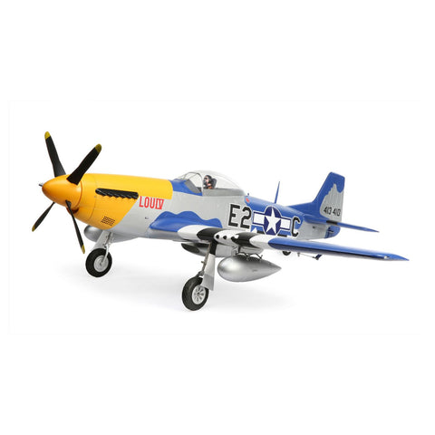 E-flite P-51D Mustang 1.5m PNP with Smart