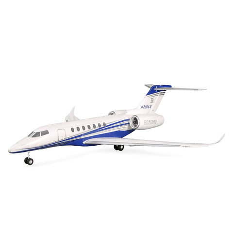 E-flite UMX Citation Longitude Twin 30mm EDF BNF Basic with SAFE Select*
