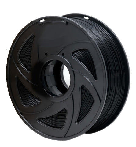Friendly Hobbies Black ABS 3D Printer Filament, 1.75mm, 1kg