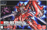 MSN-06S Sinanju Ned Zedn Mobile Customized For Newtype 1/144 Scale