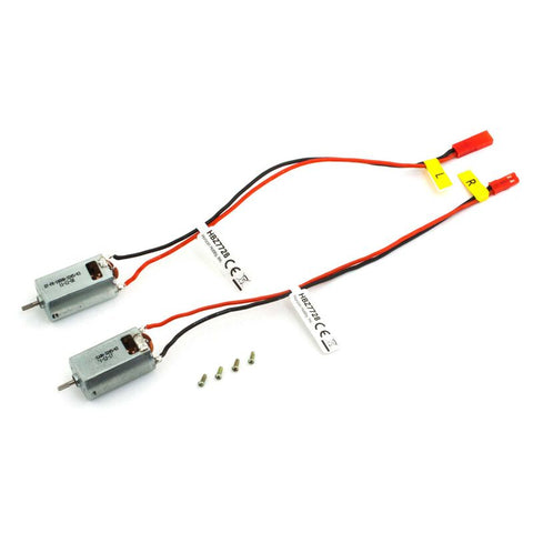 HOBBYZONE Brushed 180 Motor Set (2) (HBZ7728)