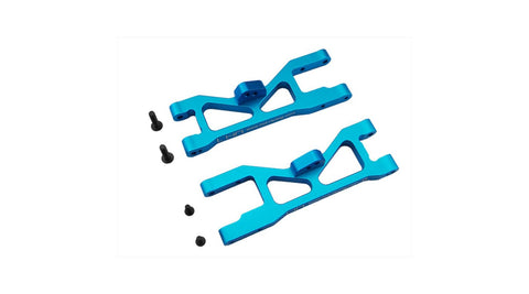 Hot Racing Aluminum Sb Front Suspension Arm Set (Blue) ECX 2WD