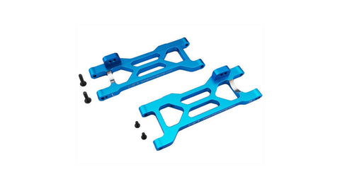 Hot Racing Blue Aluminum Rear Suspension Arms: ECX 2WD