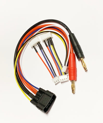 FRC1064: Traxxas Charge Cable for 2S, 3S & 4S
