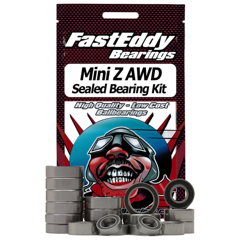Fast Eddy Kyosho Mini Z AWD Bearing Kit (TFE4016)