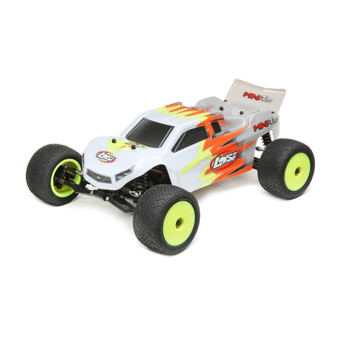 Losi 1/18 Mini-T 2.0 2WD Stadium Truck RTR, Gray/White